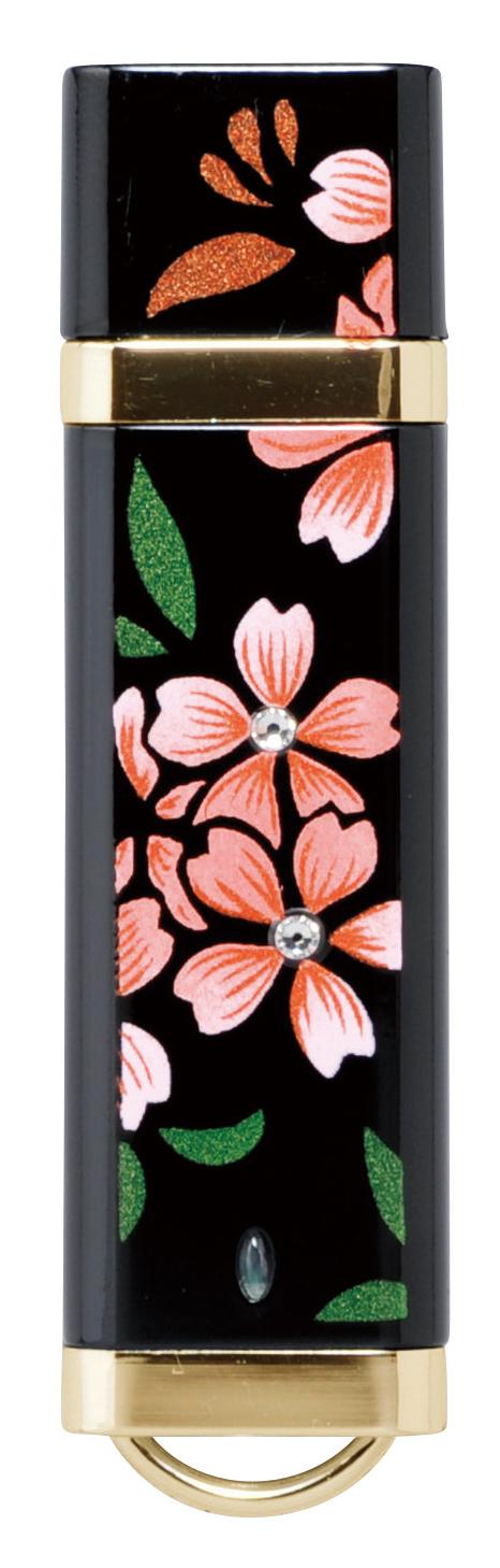 蒔絵USB スワロフスキー桜