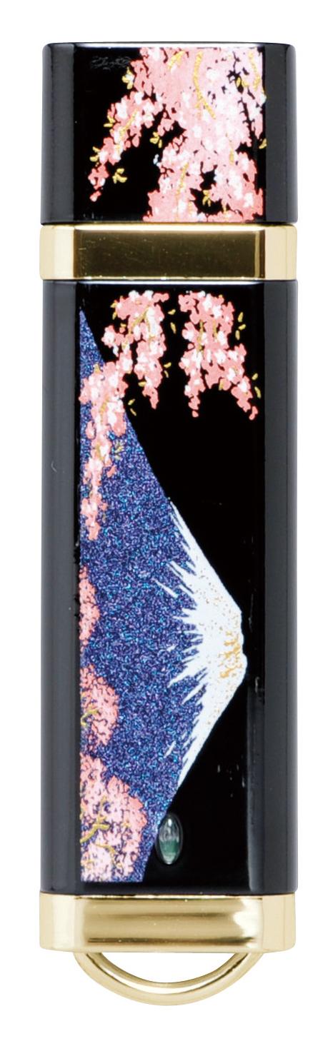 蒔絵USB 富士に桜