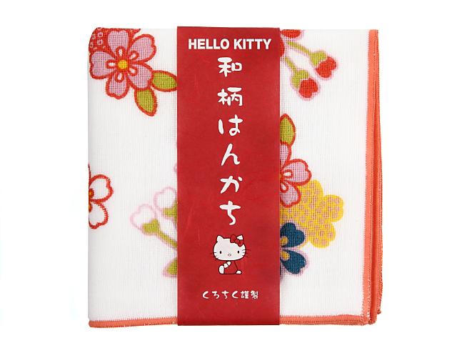ハローキティハンカチ桜