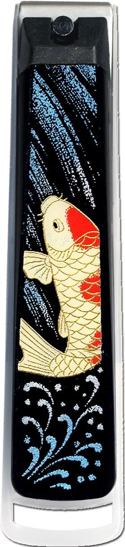 蒔絵高級爪切り 鯉の滝昇り