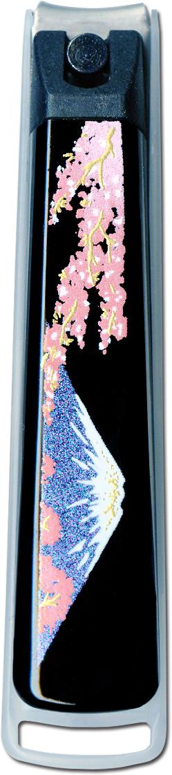 蒔絵高級爪切り 富士山と桜