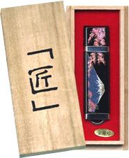 蒔絵USB富士山と桜 桐箱入り